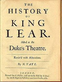 King Lear originated from the name Llŷr