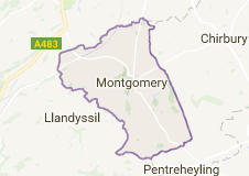 Montgomeryshire, known as known as Maldwyn in Welsh