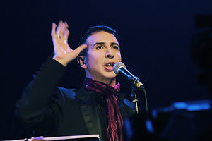The singer Marc Almond